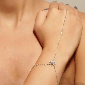 צמיד טבעת כוכב  קטן