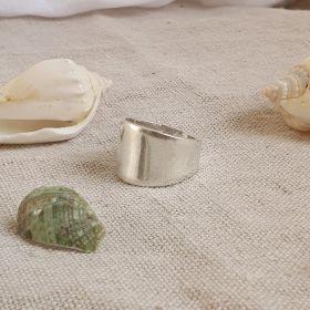 טבעת כסף מעוצבת